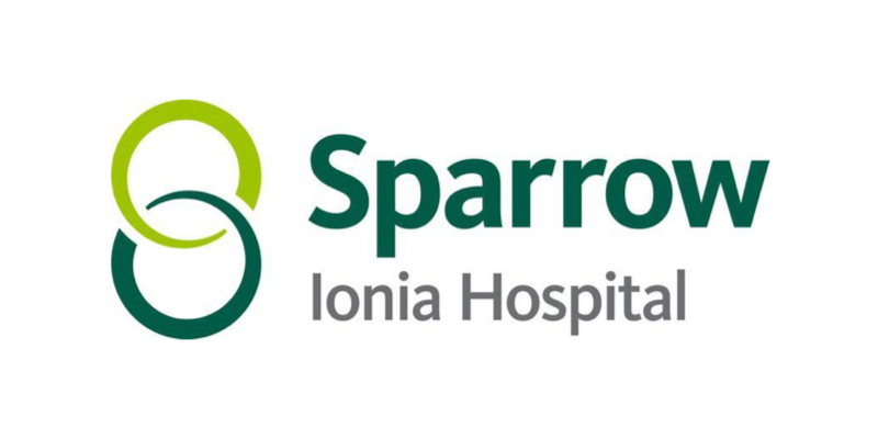 Sparrow Ionia Hospital Logo